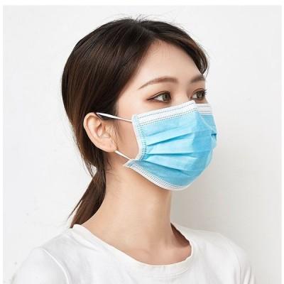 マスク 50枚入り 在庫あり 国内発送 不織布マスク 3層構造 使い捨て ウイルス飛沫 風邪 花粉対策