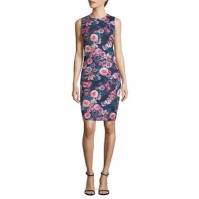 ジョアンバス レディース ワンピース Floral Scuba Bodycon Dress