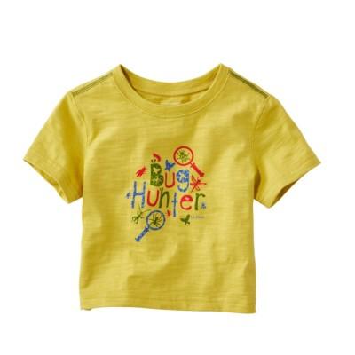 乳幼児・グラフィック・ティ、半袖
