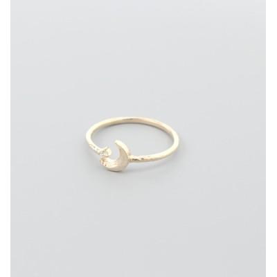 【ミロア/miroir】 K10 ダイヤモンド#3リング