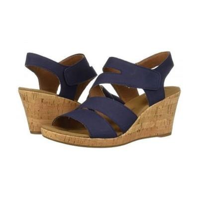 Rockport ロックポート レディース 女性用 シューズ 靴 ヒール Briah Asym - Navy Nubuck