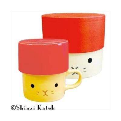Shinzi Katoh アニマル フタ付きマグ&ボックスセット ウサギ ARK-1456-1 (APIs)