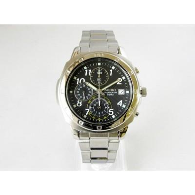 【セイコー】逆輸入モデル SEIKO クロノグラフ 腕時計 メンズ クォーツ ★ SND195【新品】