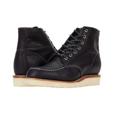 Chippewa チペワ メンズ 男性用 シューズ 靴 ブーツ ワークブーツ Brentwood Mocc - Black