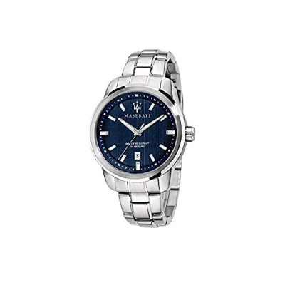 特別価格Maserati Successo 44mm シルバー ステンレス クオーツ石英 メンズ 腕時計 R8853121004全国送料無料