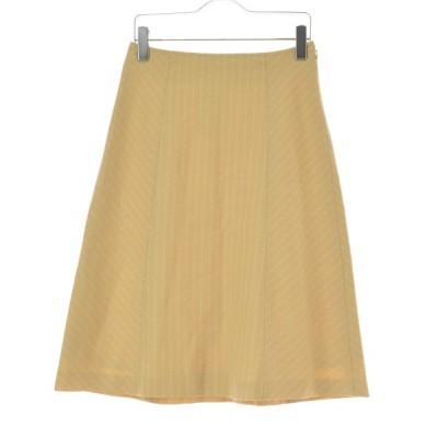 【期間限定値下げ】KEITH / キース ストライプ柄ウール スカート
