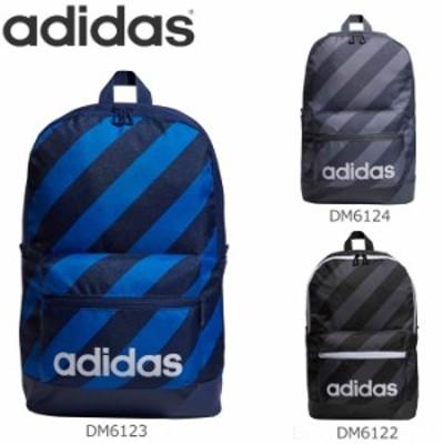 adidas/アディダス リュック リニアロゴストライプ リュックサック バックパック メンズ/レディース 全3色 FKP43