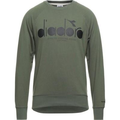 ディアドラ DIADORA メンズ スウェット・トレーナー トップス Sweatshirt Military green