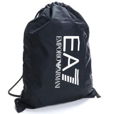 【新品】 イーエーセブン EA7 TRAIN PRIME U SACK リュック 275666 CC733 00020 ブラック メンズ
