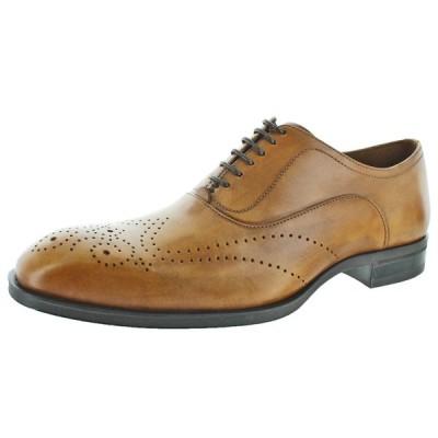 フォーマルシューズ ドナルドJプリナー Donald J Pliner Sven Men's Antique Leather Oxford Dress Shoes
