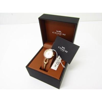 未使用 COACH コーチ PARK 14503446 レディースウォッチ クォーツ腕時計♪SB3784