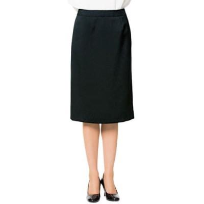 スーツ用タイトスカート(事務服・洗濯機OK)/ブラックB(総丈60cm)/58-87