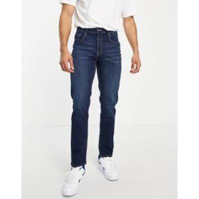 ベンシャーマン Ben Sherman メンズ ジーンズ・デニム ボトムス・パンツ straight fit jeans in rinse wash ブルー