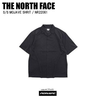 [ネコポス対応]THE NORTH FACE ノースフェイス tシャツ S/S MOJAVE SHRIT モハーベシャツ NR22061 ブラック