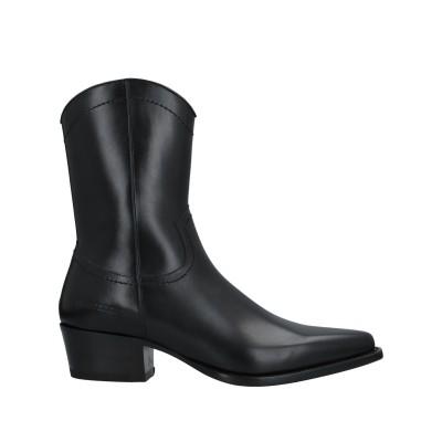 ディースクエアード DSQUARED2 ブーツ ブラック 42 牛革(カーフ) ブーツ