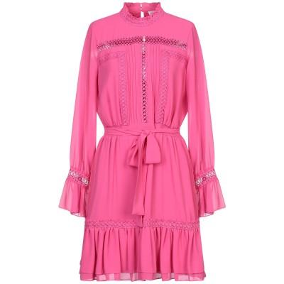 シルビアンヒーチ SILVIAN HEACH ミニワンピース&ドレス フューシャ XXS ポリエステル 100% ミニワンピース&ドレス