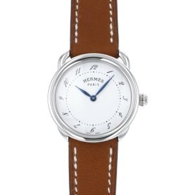 エルメス HERMES アルソー W040144WW00 ホワイト文字盤 新品 腕時計 レディース