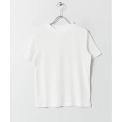 リブクルーネックTシャツ(半袖)∴