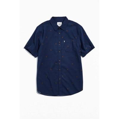 ケイティン Katin メンズ シャツ トップス Jefferson Button-Down Shirt Navy