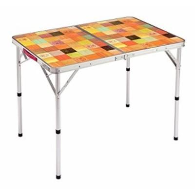 コールマン(Coleman) テーブル ナチュラルモザイクリビングテーブル 90プラ(未使用品)