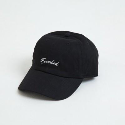 【即納】エンコーデッド ENCODED メンズ キャップ 帽子 ENBROIDERY STREAM CAP black