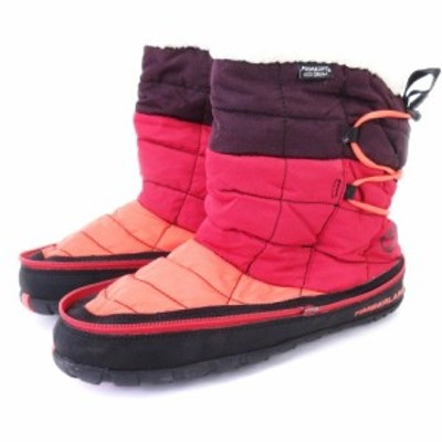 【中古】ティンバーランド Timberland アースキーパーズ ラドラー トレイル スノーブーツ 1624R レッド 黒系 26 靴
