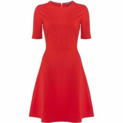 トミー ヒルフィガー Tommy Hilfiger レディース ワンピース ワンピース・ドレス Raven Dress Red