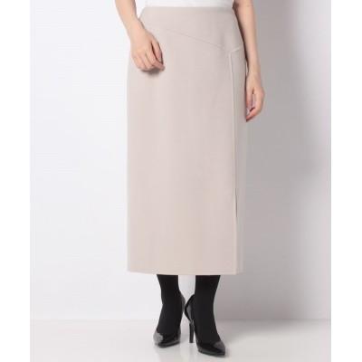 (ANAYI/アナイ)リバーシャルムタイトスカート/レディース アイボリー