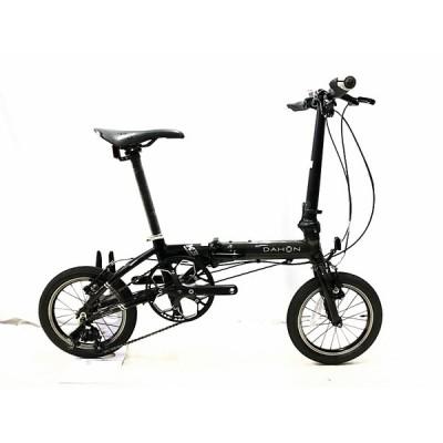ダホン DAHON ケー3 K3 2020年モデル  折り畳み自転車 14インチ ガンメタル×ブラック