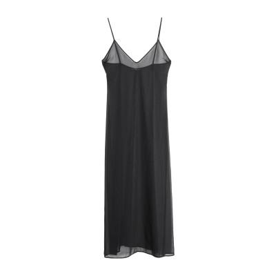 マルコ ボローニャ MARCO BOLOGNA ロングワンピース&ドレス ブラック 42 ポリエステル 100% ロングワンピース&ドレス