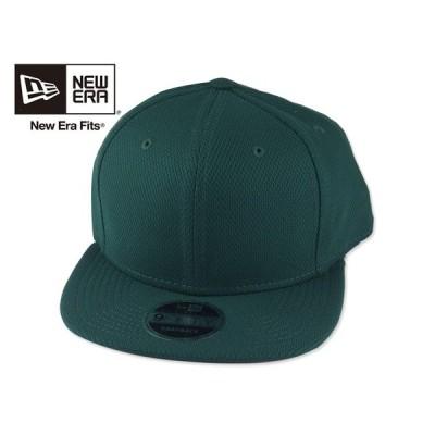 ☆NEWERA【ニューエラ】NE404 Diamond Era Snapback Cap Dark Green ダイアモンドエラ スナップバック キャップ ダークグリーン 16397