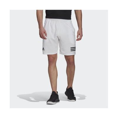 【アディダス】 クラブ テニス 3ストライプス ショーツ / Club Tennis 3-Stripes Shorts メンズ ホワイト XS adidas