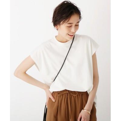 tシャツ Tシャツ ハイツイストコットン フレンチスリーブカットソー【WEB限定サイズ】