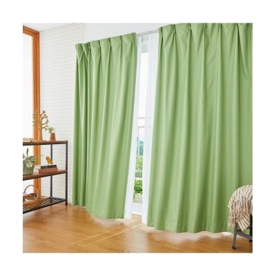 ブッチャー織遮熱。防音。1級遮光カーテン&遮熱。夕方まで見えにくい。UVカットレース4枚セット カーテン&レースセット, Curtains, sheer curtains, net curtains(ニッセン、nissen)
