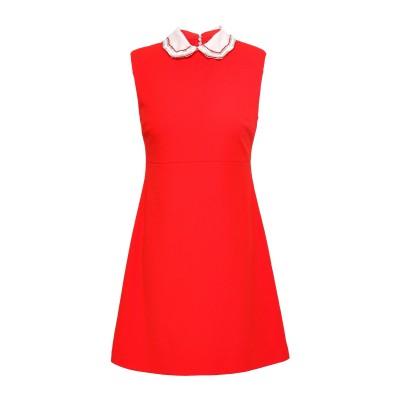 MAJE ミニワンピース&ドレス レッド 2 ポリエステル 98% / スチール 2% ミニワンピース&ドレス