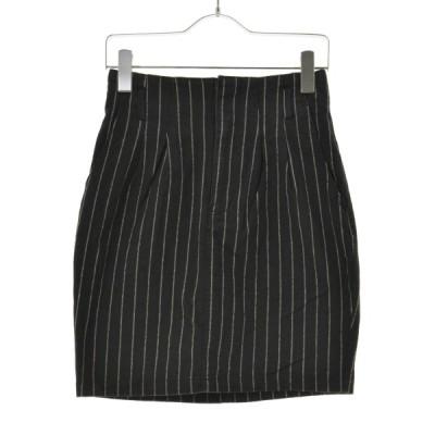 【期間限定値下げ】HEATHER / ヘザー ストライプ柄ストレッチタイト スカート