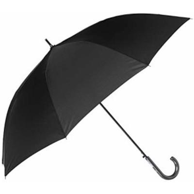[ムーンバット] MIZUNO ミズノ 耐風ジャンプ長傘 ワンポイントロゴ 風に強い 丈夫 撥水 メンズ ブラック 日本 親骨の長さ:65?p 全長:約86