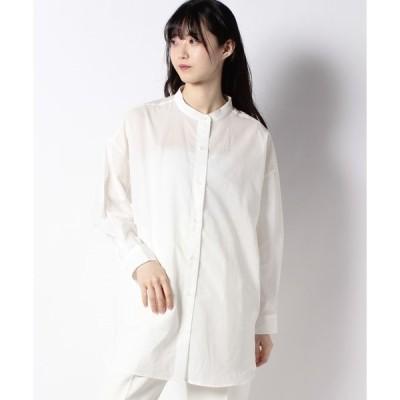 【テチチ】【Lugnoncure】スタンドカラーシャツ