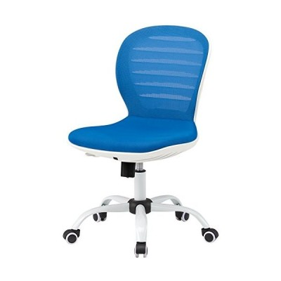 トキオ   デスクチェア オフィスチェア 肘なし FCM-3 ブルー