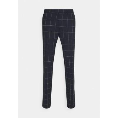 ドライコーン カジュアルパンツ メンズ ボトムス PIET - Suit trousers - dark blue