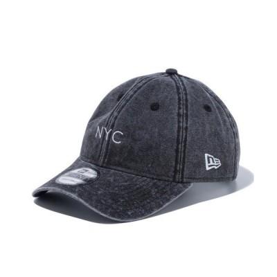 帽子 キャップ 【NEW ERA】9TWENTY イタリアンウォッシュ NYC [12493865][12493868]