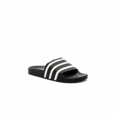 アディダス adidas Originals メンズ サンダル シューズ・靴 Adilette Black & White & Black