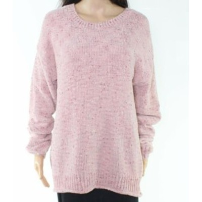 ファッション トップス Allie & Rob Womens Soft Pink Size PXL Petite Knit Pullover Sweater