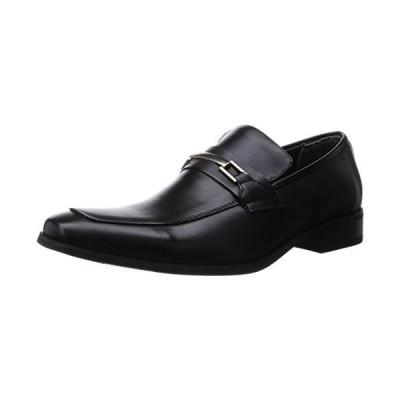 [ジンク] ビジネスシューズ ビットローファー 5854 ブラック 26.5 cm