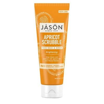 Jason Natural ブライトニング アプリコット スクラブ 洗顔&スクラブ 113g(4oz) ジェイソンナチュラル