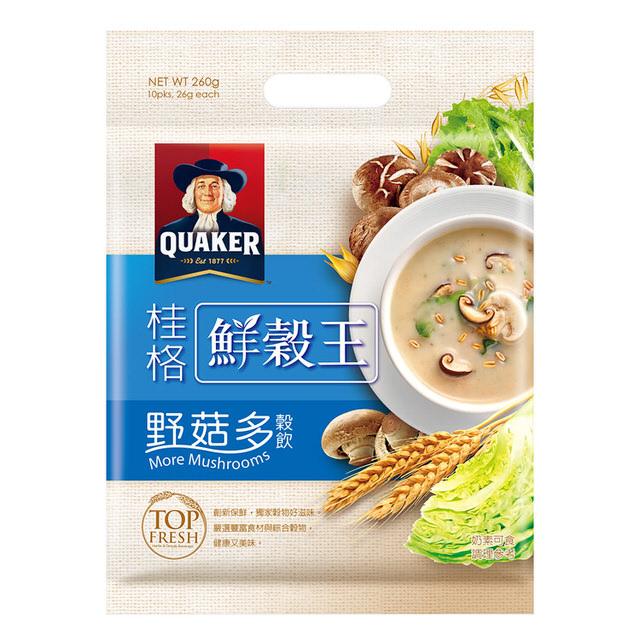 桂格鮮榖王野菇多穀飲