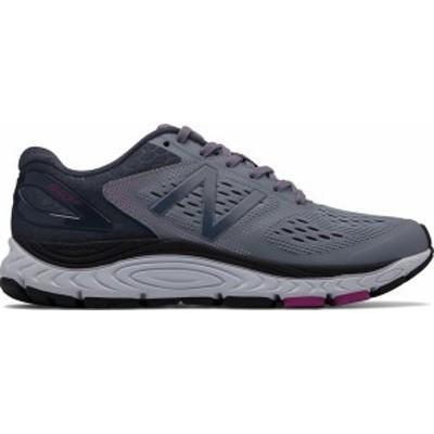 ニューバランス レディース スニーカー シューズ Women's New Balance W840v4 Running Shoe Cyclone/Poisonberry