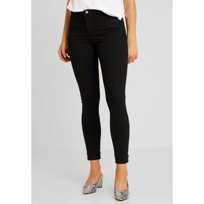 ヴェロモーダ デニムパンツ レディース ボトムス VMTANYA PIPING - Jeans Skinny Fit - black