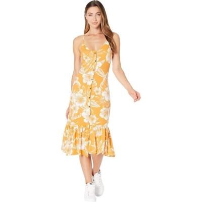 ロキシー Roxy レディース ワンピース ワンピース・ドレス Seaside State Dress Apricot Tan Ventura Bico
