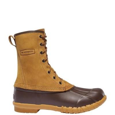 ラクロス メンズ ブーツ&レインブーツ シューズ Men's Uplander II Water-Resistant 10#double; Lace-Up Boots Brown
